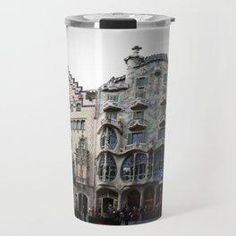Batllo House, Barcelona, Catalunya, Spain, Antoni Gaudi Travel Mug