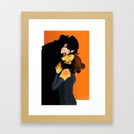 Nose  Bump Framed Art Print