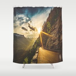Road-to-the-Sun Shower Curtain