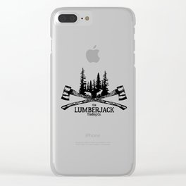 The Lumberjack Trading Co Clear iPhone Case