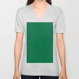 Cadmium Green Unisex V-Neck