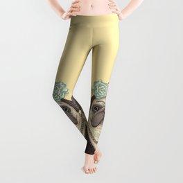 Frida Pug Kahlo Leggings
