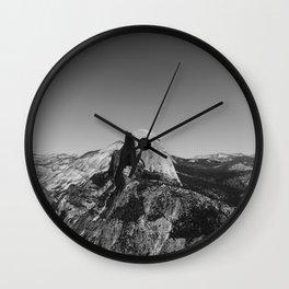 Glacier Point, Yosemite National Park VI Wall Clock