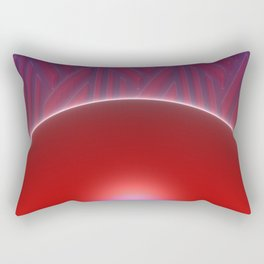 Strange Days Indeed Rectangular Pillow