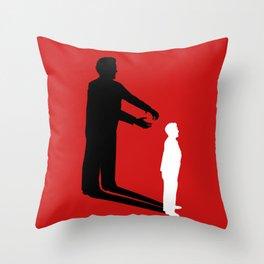 Strangers on a Train Throw Pillow