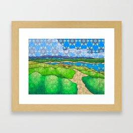 La Playuela Framed Art Print