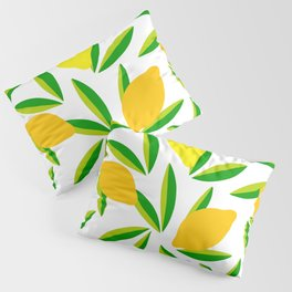 Pop Lemon & green Pattern #summervibes Pillow Sham