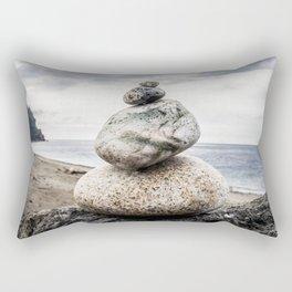 Rock Pile, Fort Worden State Park,  WA Rectangular Pillow
