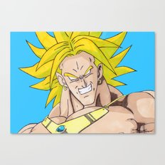 Broly: The Legendary Super Saiyan  Canvas Print