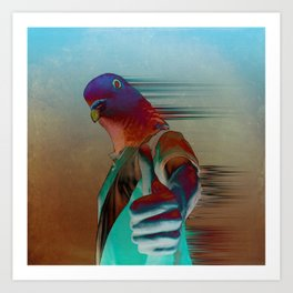Pigeon Approved   Art Print