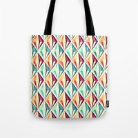 diamonds Tote Bags featuring Diamonds by VessDSign