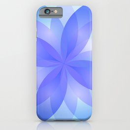 Abstract Lotus Flower G303 iPhone Case
