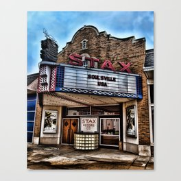 Stax Records Canvas Print