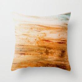 Patina Hint Throw Pillow