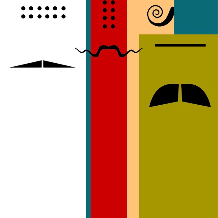 """Les Grands Chefs (della serie """"La Teoria del Colore"""") Comforters"""