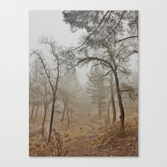 """""""Mistery forest"""". Wandering today Canvas Print"""