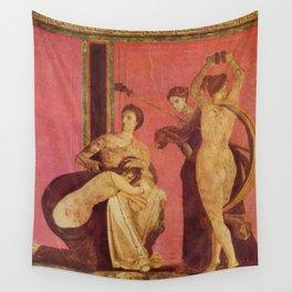 Villa Of Mysteries Pompeii Wall Tapestry