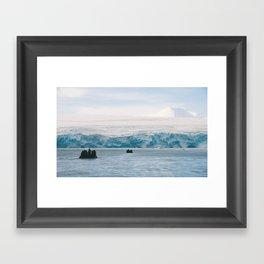To the Berg Framed Art Print