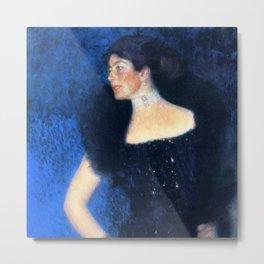 "Gustav Klimt ""Portrait of Rose von Rosthorn-Friedmann"" Metal Print"