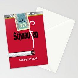 Schnaufen Zigaretten Stationery Cards