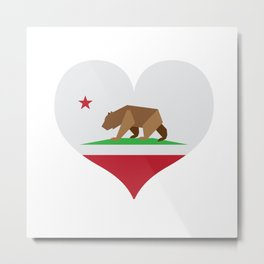 California Love Metal Print