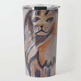 Orange Goddess Travel Mug