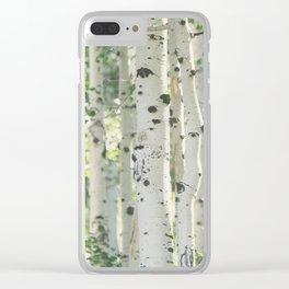Aspen Grove Clear iPhone Case