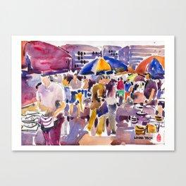 20170325h USKSG Thieves Market 1 Canvas Print