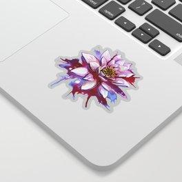Bleeding Lotus Sticker