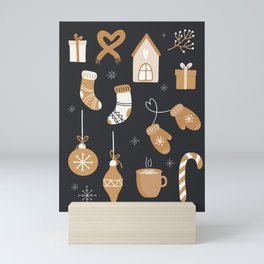 Christmas Things Mini Art Print