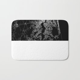 Jacksonville map Bath Mat