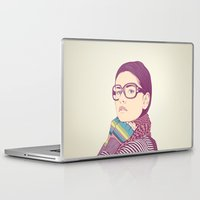 clear Laptop & iPad Skins featuring Just know who I am.... by CranioDsgn