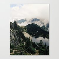 lake Canvas Prints featuring Eunice Lake by Kevin Russ