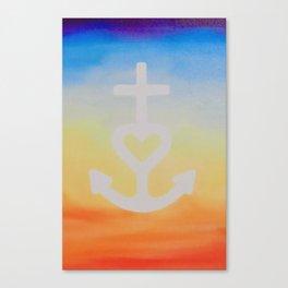 Faith, Hope & Love Canvas Print