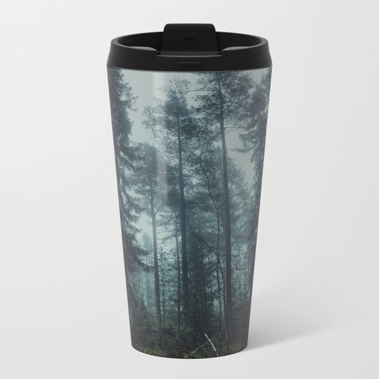 Flirting with temptation Metal Travel Mug