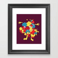 Mental¡FIESTA! Framed Art Print