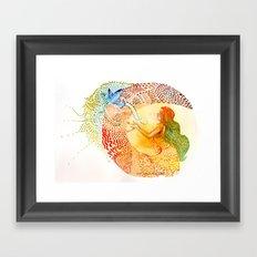 I love you free Framed Art Print