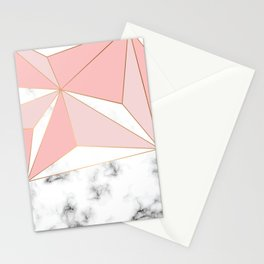 Marble & Geometry 042 Stationery Cards