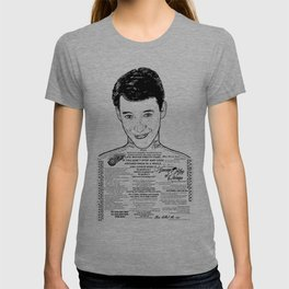 Save Ferris The Righteous Dude - Ink'd Series T-shirt