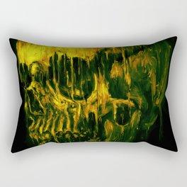 Melting Skull Rectangular Pillow
