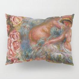 """Auguste Renoir """"Étude De Nus Et De Fleurs"""" Pillow Sham"""