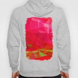 Crape Myrtle Abstract Polygons 3 Hoody
