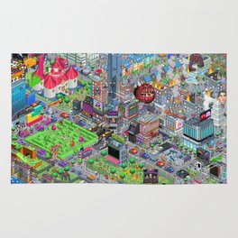 Videogame City V2.0 Rug