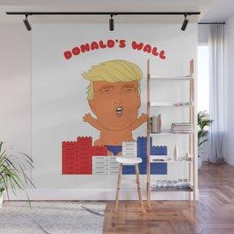 Donald's Wall Wall Mural