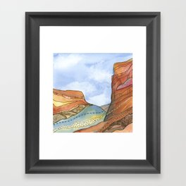 Canyon Cathedral 4 Framed Art Print