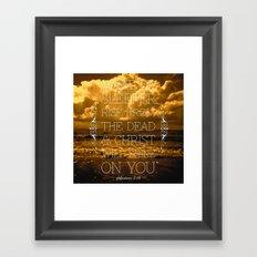 Wake Up Sleeper Framed Art Print