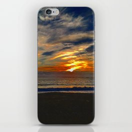 Dusky Waves iPhone Skin