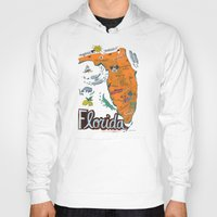 florida Hoodies featuring FLORIDA by Christiane Engel