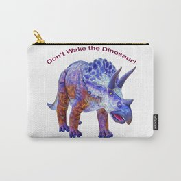Don't Wake the Dinosaur! Carry-All Pouch