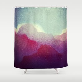 Spray Clouds Shower Curtain